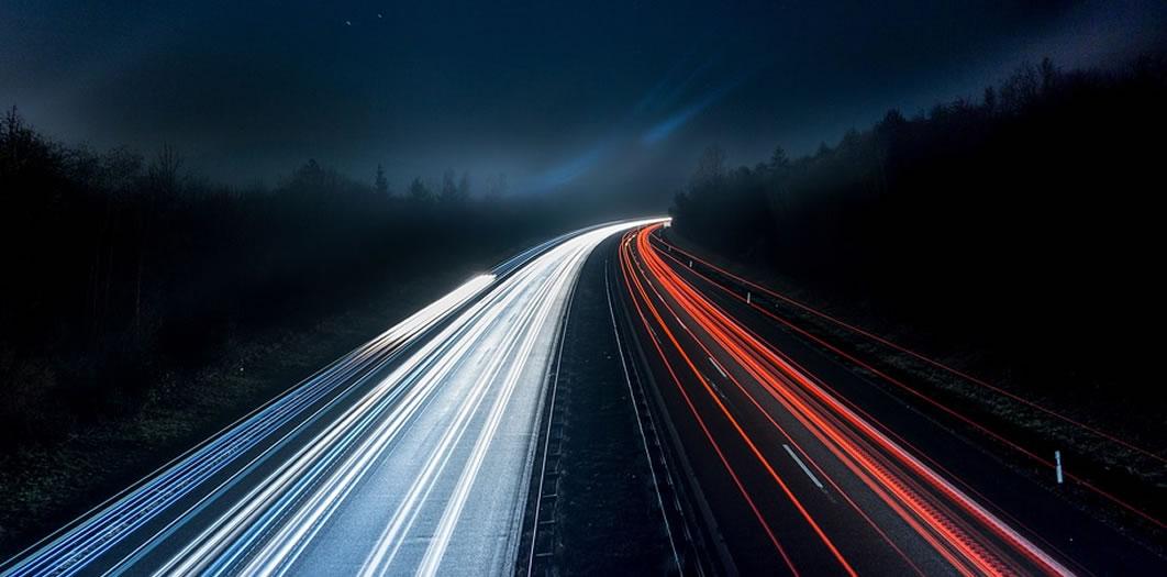 alta velocidade de conexao